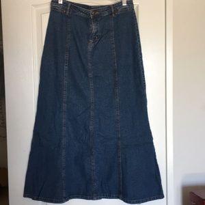 Old Navy Skirts - Old Navy Denim Maxi Skirt